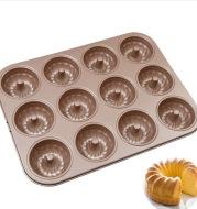 24/12 Cup Donut Cuckoo Mold