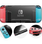 Switch transparent split protective shell