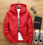 Long sleeve stand collar jacket