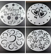 4 piece spray pattern