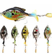 Tractor lure fishing lure