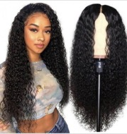 Wave high temperature silk African wig