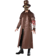 Cursed Priest Plague Doctor Horror Cosplay Costume