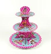 Cartoon doll birthday theme cake stand