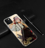Oil painting glass mobile phone case