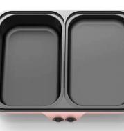 Student dormitory pan roast-shabu one pan frying pan