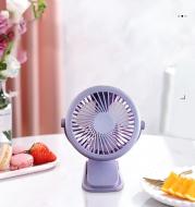 Clip charging fan
