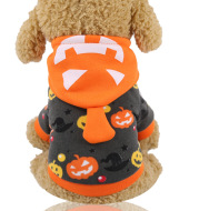 Halloween day funny pet clothes