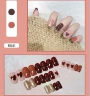 Detachable nail patch waterproof 24 pieces