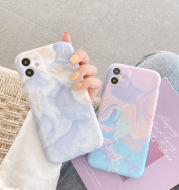 Watercolor ink painting mobile phone case