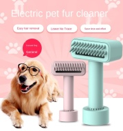 Wireless Electric Pet Comb Remove Fleas Dog Grooming Fur Cleaning Comb