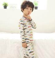 Children's cotton clothes suit