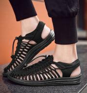 Men's beach shoes woven sandals