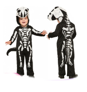 Halloween Skeleton Scary Cosplay Children Costume  Clothes