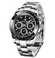 Men's Quartz Watch with Steel Band