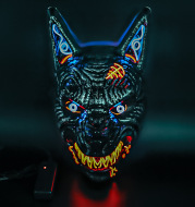 Scary Blood Wolf Mask