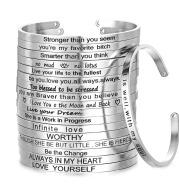 Customizable Stainless Steel Bracelet