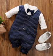Baby boy's one-piece suit