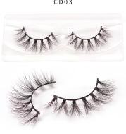 3D color mink false eyelashes