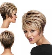 High temperature silk micro-curly wig