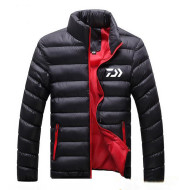 Stand collar cotton padded jacket