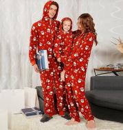 Christmas hooded jumpsuit