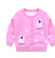 Children's sweater new girl cardigan jacket