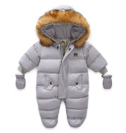 Baby Kids Jumpsuit Jacket with Gloves