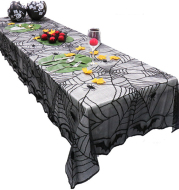 Halloween Tablecloth Lace Mesh Cloth