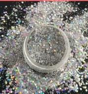 Nail jewelry mixed powder glitter