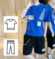Men's summer suit short sleeve