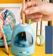 Electric Pencil Sharpener Eraser Table Vacuum Cleaner Students Stationery Office School Supplies