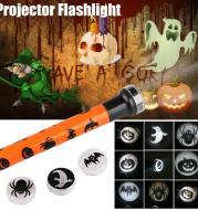 Pumpkin Skull Flashlight
