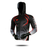Hooded anti-ultraviolet fishing suit