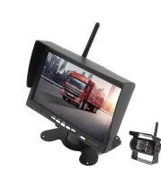 Forklift Truck Harvester 7 Inch Car Wireless Reversing Video Display Camera