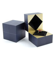 Valentine's Day Magic Cube Jewelry Packaging Box Personalisation Propose Marriage Ring Box