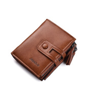 Buckle Retro Men's Wallet Wallet Multifunctional