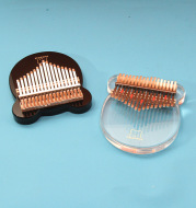 Transparent Crystal Plate 17-Tone Finger Piano