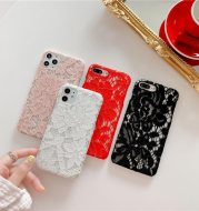 Simple and Creative Lace Silicone Phone Case
