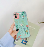 Idyllic Small Flower Soft Shell Transparent Mobile Phone Case