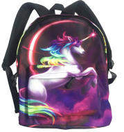 Primary And Secondary School Girls' Casual Lightening Backpack