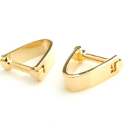 High Quality French Cufflinks With V-Shaped Metal Cufflinks
