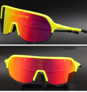 Outdoor Polarized Sports Bike Goggles And Windshield