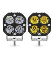 Off-Road LED Square Spotlight For Truck Car