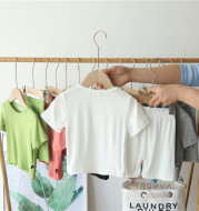 Summer Cotton Thin Short-Sleeved Pajamas For Children