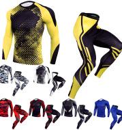 Men's Stretch Outdoor Leisure Running Training Suit