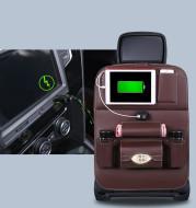 Charging Car Storage Bag Seat Hanging Bag