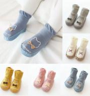 Autumn Winter Baby Girls Boys Socks Cute Cartoon Non-slip Cotton Toddler Floor Socks