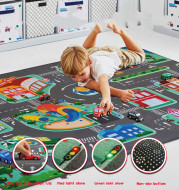 LED Lighter Rode Rugs For Kid Play Climb Carpets