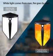 Waterproof Garden Security Lighting Solar LED Wall Lamp with Human Motion Sensor